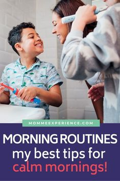 Mornings can feel so hectic! We can all relate--but let's tame the chaos with my top 4 tips to easily implement into your morning routine checklist! Mindful Parenting, Gentle Parenting, Parenting Advice, Time Management Strategies, Behavior Management, Morning Routine Kids, Routine Printable, Parent Coaching, New Sibling