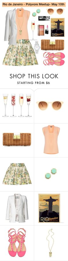 """""""Join us - Rio de Janeiro - Brazil meet-up (15 days left for the event!!!!)"""" by karineminzonwilson ❤ liked on Polyvore featuring мода, LSA International, Quay, J.Crew, Warehouse, Alice + Olivia, Marc by Marc Jacobs, By Malene Birger, Urban Decay и Valentino"""