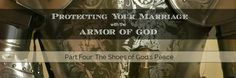 """Our marriages need protecting. And God has provided us with His full armor to keep us safe and make us strong. This Couples' Bible Study series looks at each piece of armor as seen in Ephesians 6:10-20 and how it helps us to """"be strong in the Lord and in His mighty power"""" and """"stand …"""