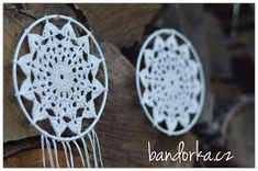 bandorka: Malá háčkovaná mandala Mandala, Handmade, Hand Made, Mandalas, Handarbeit