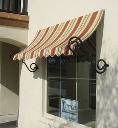 Awnings For Homes Decorative Amp Spear Awnings The Awning