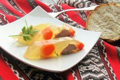 Racitura (piftie) de porc Cantaloupe, Fruit, Ethnic Recipes, Kitchen, Pork, Eten, Cooking, Kitchens, Cuisine