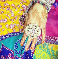 My mehndi for Eid 2013 - Y A Z R A J A // surface pattern designer +illustrator