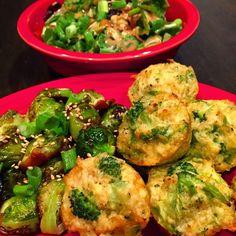 Tasty and (Mostly) Healthy Recipes: Broccoli Cauliflower Quinoa Bites