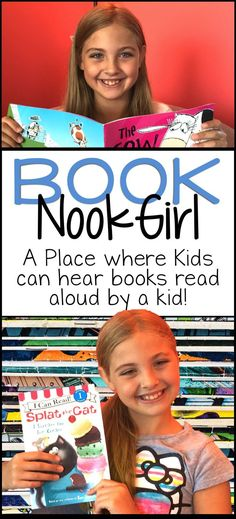 There's nothing better than kids reading to kids! Come listen to Book Nook Girl read favorite picture books, both old and new!