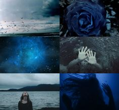 "hp aesthetics: Dark blue Ravenclaw ""I've always liked being alone. It gives you…"