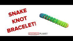 """#BRANDNEW Paracord Planet tutorial!! We proudly present to you """"The Snake Knot Bracelet."""" Follow along and give a try for yourself! Show us your completed projects below. Happy Cording! https://www.youtube.com/watch?v=X3CXiPTwQLY #paracord #tying #knotting #design #planet #tutorial #paracordial #howto #snake #knot #bracelet #craft #crafting #diy"""