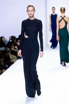 Calvin Klein Collection Fall 1996 Ready-to-Wear Fashion Show - Amy Wesson