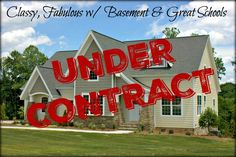 **Another beautiful home UNDER CONTRACT!  Contact us TODAY! Let us help you find YOUR DREAM HOME!!!