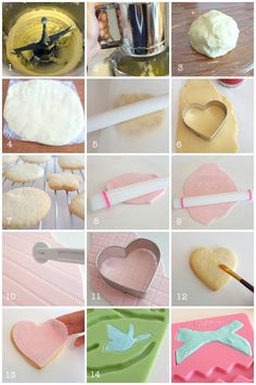 fondant cookies tutorial