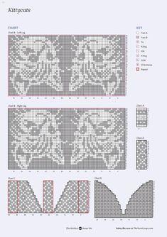 Knitted Mittens Pattern, Fair Isle Knitting Patterns, Crochet Socks, Knitting Charts, Knit Or Crochet, Knitting Stitches, Knitting Socks, Knit Patterns, Stitch Patterns