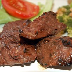 Steak Sirloin Tip Marinade - Pour over top of meat in crock pot and cook for 5 hours #Beef #Dinner #Crockpot