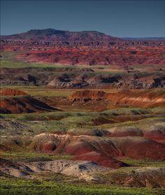 Painted Desert Arizona by Ian C Rolfe
