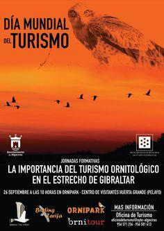 Jornada de Turismo ornitológico en Algeciras por el Día Mundial del Turismo