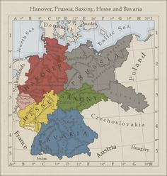 Roosevelt Plan (FDR's Proposal for Post-WWII Germany) #map #germany #ww2