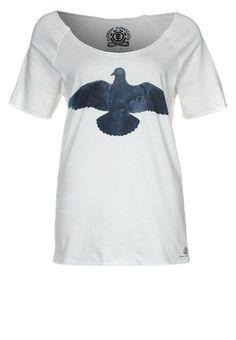 Element - UNITED INSIGNA - T-Shirt print - ivory