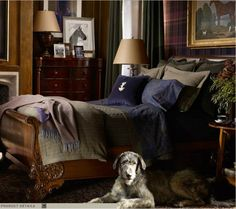 Ralph Lauren Home Brookfield Collection Equestrian Traditional European Classic . - Ralph Lauren Home Brookfield Collection Equestrian Traditional European Classic Style - Equestrian Decor, Equestrian Style, Equestrian Bedroom, Br House, English Country Decor, Ralph Lauren Style, Beautiful Bedrooms, Home Bedroom, Bedroom Ideas