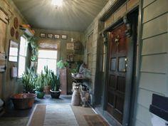 Mud room porch area