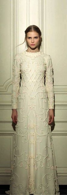 Valentino richly textured wedding dress! Enjoy RUSHWORLD boards, WEDDING GOWN HOUND, THE HAPPY BRIDESMAID- DRESSES THEY WILL WEAR AGAIN and UNPREDICTABLE WOMEN HAUTE COUTURE. Follow RUSHWORLD! We're on the hunt for everything you'll love!