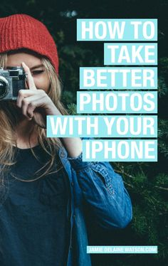 How to Take Awesome Photos with ONLY your iPhone! Actionable tips and advice as…