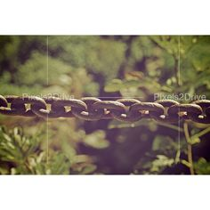 Old Metallic Chain Photo. High Resolution Image.