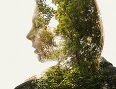 We Are Nature Vol. III: New Double and Triple Exposure Portraits by Christoffer Relander Double exposure Photography Projects, Artistic Photography, Digital Photography, Nature Photography, Portraits En Double Exposition, Exposition Multiple, Design Graphique, Art Graphique, Multiple Exposure Photography