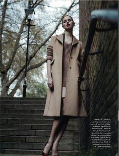 Max Mara camel coat in Vogue Mexico