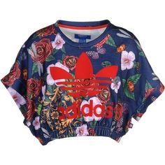 Adidas Originals By Rita Ora T-Shirt found on Polyvore Rita Ora Adidas, Red b00dcbf666
