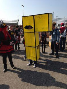 Mitico uomo Tetris!!! Mantova Comics and Games 2014: il fotoreportaggio - L'Antro Atomico del Dr. Manhattan