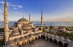 The Hagia Sophia in Istanbul, Turkey, changed the history of architecture - it changed the way people saw space. It was the largest place of worship for years, until Seville Cathedral was built in and it invented the concept of indirect load transfer. Budapest, Trinidad, Weekender, Low Cost Flights, Haul, Cheap Places To Travel, Istanbul Travel, Istanbul Airport, Blue Mosque