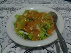 "Indonesian food ""lotek"""