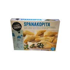 Αποτέλεσμα εικόνας για spanakopita packaging Snack Recipes, Snacks, Spanakopita, Spinach, Frozen, Chips, Butter, Snack Mix Recipes, Appetizer Recipes