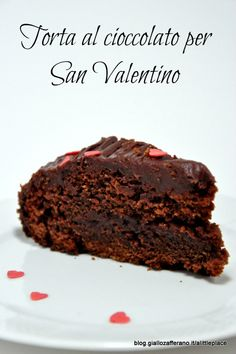 torta al cioccolato per san valentino - S. Valentine's day chocolate cake