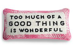 Hintd - Needlepoint Pillow