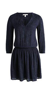 ESPRIT SS15 | Följsam klänning med jacquardstruktur