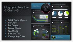 Graphics - Infographic Elements + Template | GraphicRiver
