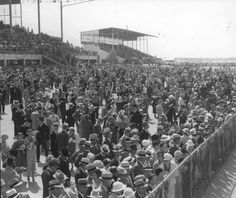 Crowds at Arlington Downs race track, before 1937 My Town, Fort Worth, Dallas, Dolores Park, Track, Texas, Racing, Entertainment, History