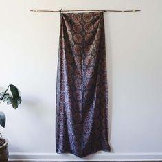 Ichcha - Suzani indigo, $65.00 (http://www.ichcha.com/block-print-scarf-suzani-indigo/)