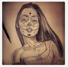 Day of the dead Pocahontas