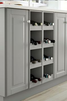 Cute IKEA SEKTION kitchens let you create the storage you need to fit your lifestyle and budget