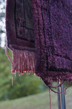 diy overdyed rug design lines ltd diy pinterest. Black Bedroom Furniture Sets. Home Design Ideas