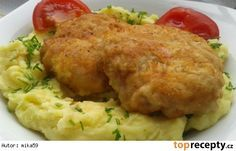 Mleté řízky s Nivou Meat, Chicken, Recipes, Cooking, Recipies, Ripped Recipes, Cooking Recipes, Cubs