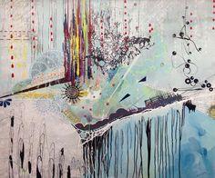 "Darvin Jones - I Want a Chocolate Shake - MEDIUM: Original Acrylic on Canvas SIZE: 65 x 77"""