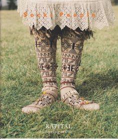 folk style. socks people - kapital
