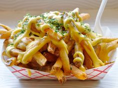 Lobster Fries and more at Edzo's in Chicago #fries #chicago #cheapeats