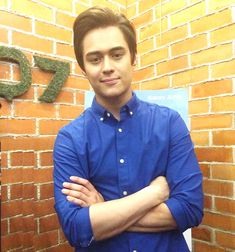 """Enrique Gil's next serye, """"Bagani,"""" out by March, sees him doing action-packed scenes enhanced by computer-generated imagery. Computer Generated Imagery, Enrique Gil, Heart Eyes, Men Casual, Hero, Shirt Dress, Mens Tops, Target, March"""