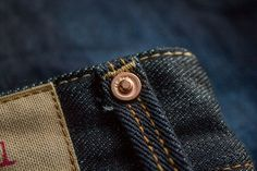 My new Red Seal selvedge denim Handcrafted by Replay Jeans Button, Denim Jeans, Leather Rivets, Jeans And Flats, Oxblood, Pocket Detail, 70s Fashion, Wallet, My Style