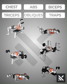 Muscle Gain Workout, Abs And Cardio Workout, Gym Workouts For Men, Gym Workout Chart, Full Body Gym Workout, Gym Workout Videos, Abs Workout Routines, Gym Workout For Beginners, Weight Training Workouts