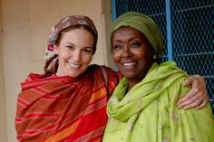 Read Diane Lane's essay on her time in Somaliland with Edna Adan