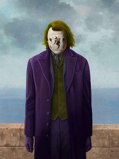 Magritte + Joker